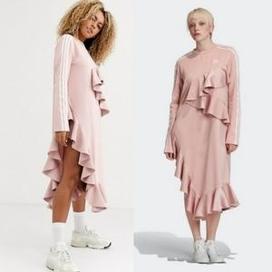 adidas Originals x J Koo Dress FT9897 Pink Small